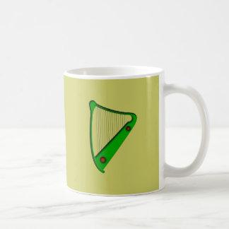 Celtic harp celtic harp mug