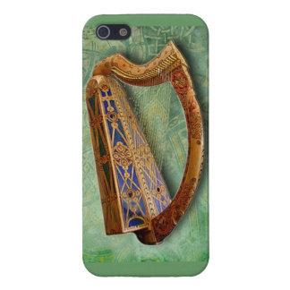 Celtic Harp Iphone Case iPhone 5 Carcasa