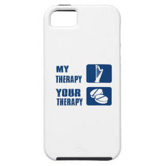 CELTIC harp is my therapy iPhone 5 Case