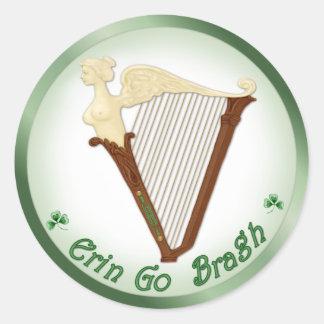 Celtic Harp Stickers