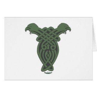 Celtic Hawk Cards