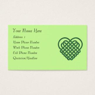 Celtic Heart 001 Profile Card