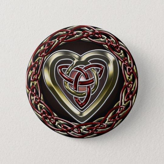 Celtic Heart Button