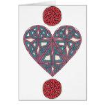 Celtic Heart card 2