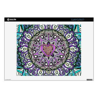 Celtic Heart Knot Tapestry Mandala Decal For Laptop