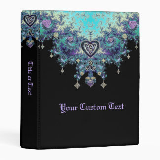Celtic Heart Mystical Fractal Mini Binder