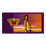 CELTIC HEART PHOTO GREETING CARD