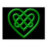 Celtic Heart Post Card