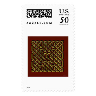 celtic heart postage
