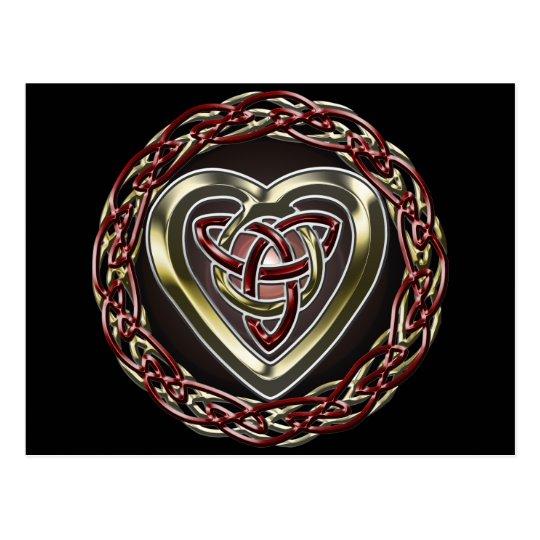 Celtic Heart Postcard