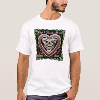 Celtic Heart Wedding/Anniversary Design T-Shirt