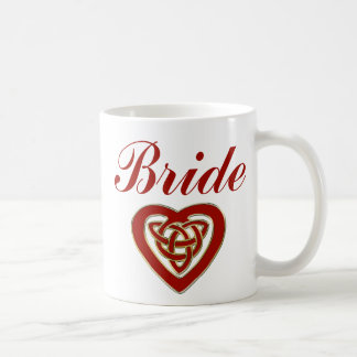 Celtic Heart Wedding Set Coffee Mug