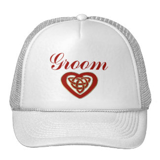 Celtic Heart Wedding Set Hat