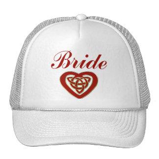 Celtic Heart Wedding Set Trucker Hat