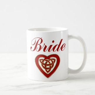 Celtic Heart Wedding Set Mug