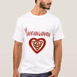 Celtic Heart Wedding Set T-Shirt