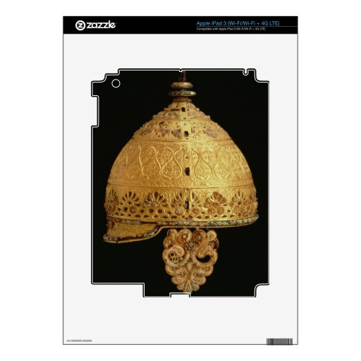 Celtic helmet found at Agris, Charante, 4th centur Skin For iPad 3