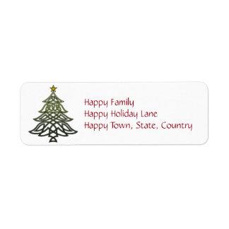 Celtic Holiday Labels