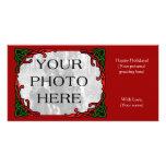 Celtic Holiday Photo Greeting Photo Cards