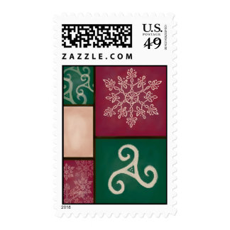 Celtic Holiday Stamps
