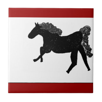 celtic horse 2 ceramic tile