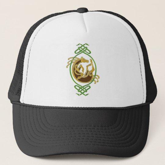 Celtic Horse - colors Trucker Hat