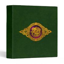Celtic Horse Design Binder