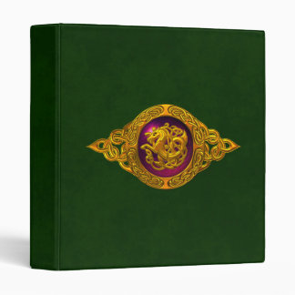 Celtic Horse Design Binder