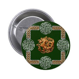 Celtic Horse Design Buttons