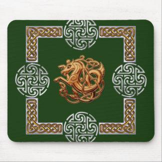 Celtic Horse Design Mouse Pad