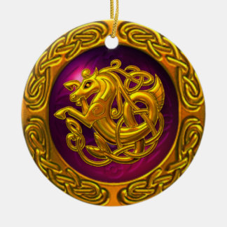 Celtic Horse Design Ornament