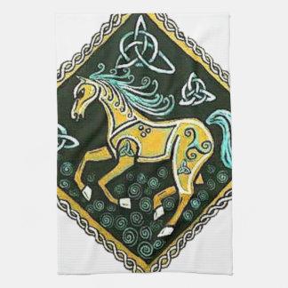 Celtic Horse Hand Towels