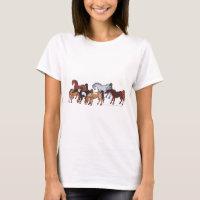 celtic horse herd T-Shirt