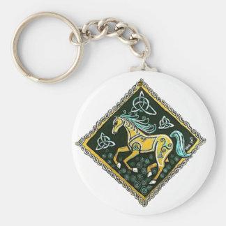 Celtic Horse Keychain