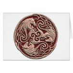 Celtic Horse Knot Greeting Card