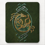 Celtic Horse Knotwork - Stone Mouse Pad