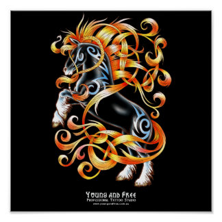 Celtic Horse Posters