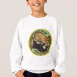 celtic horse yin yang sweatshirt