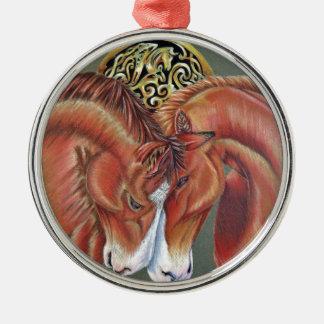 Celtic horse- zodiac symbol metal ornament