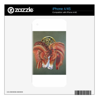 Celtic horse- zodiac symbol decal for the iPhone 4