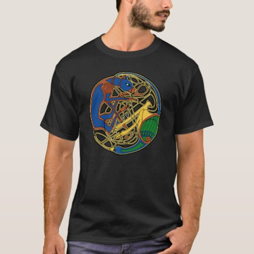 Celtic Hound and Bird T-Shirts and Hoodies!