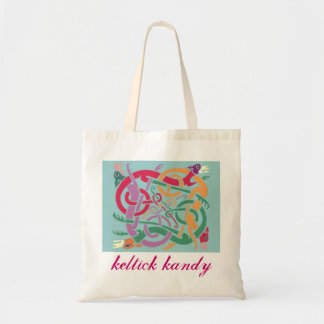 Celtic Hound Tote Canvas Bags