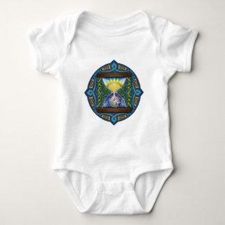 Celtic Hourglass Baby Bodysuit
