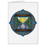 Celtic Hourglass Card