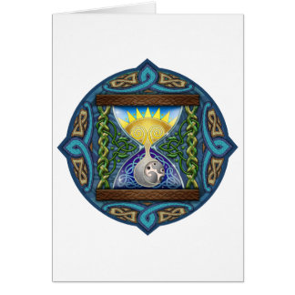 Celtic Hourglass Card