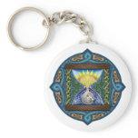 Celtic Hourglass Keychain