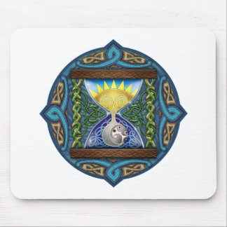 Celtic Hourglass Mouse Pad
