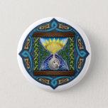 Celtic Hourglass Pinback Button