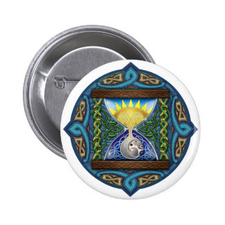 Celtic Hourglass Pinback Button