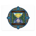 Celtic Hourglass Postcard